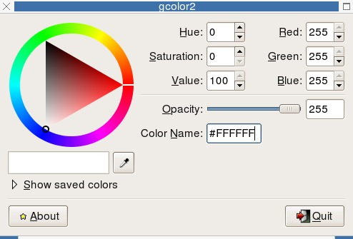 Gcolor2 - Color Selector