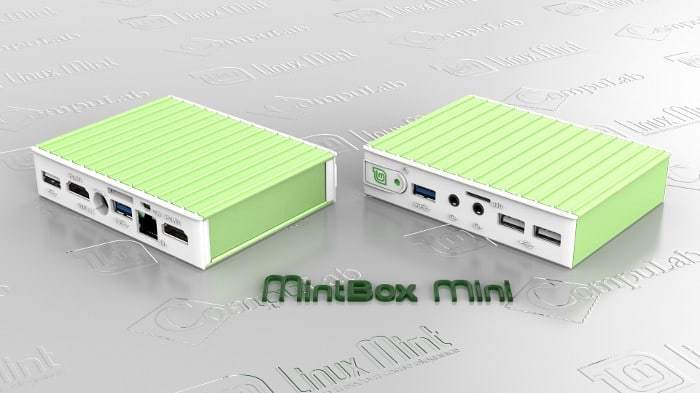 MintBox Mini by Linux Mint and CompuLab