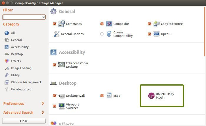Enable minimize on click feature in Ubuntu 14.04