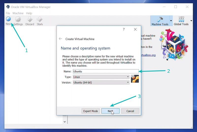 Installing Linux inside Windows using Oracle VirtualBox