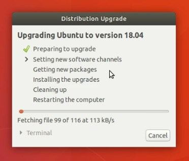 Fetching Update files