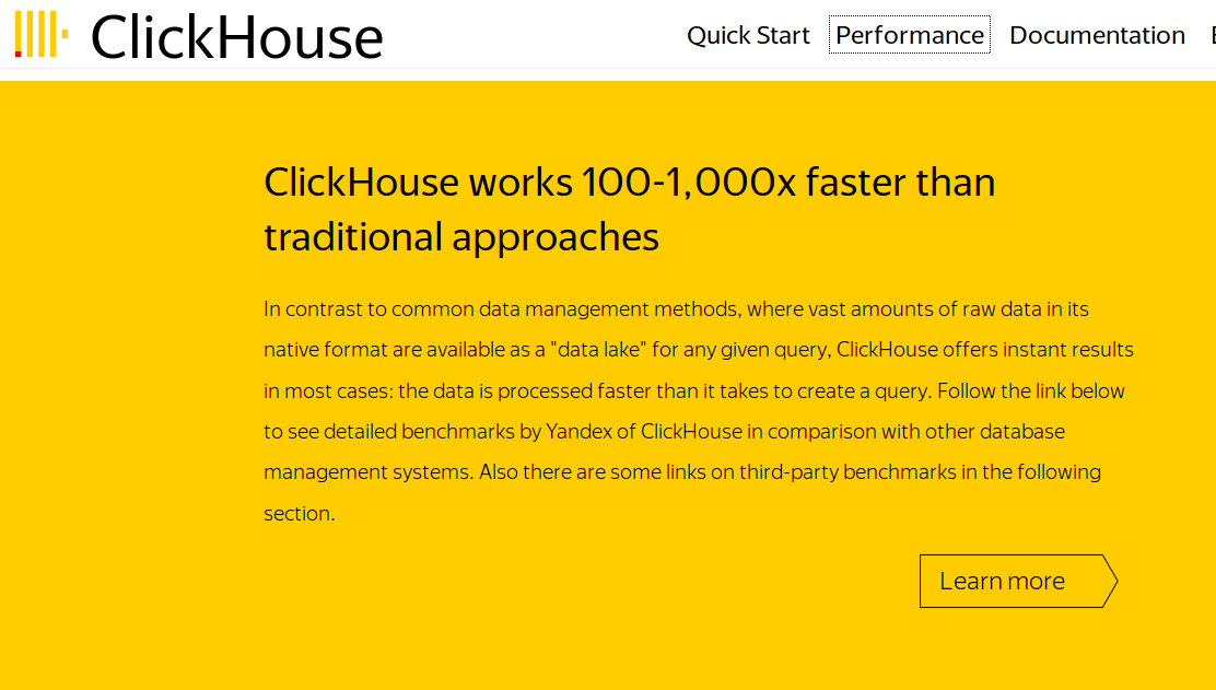 ClickHouse - Database Management System