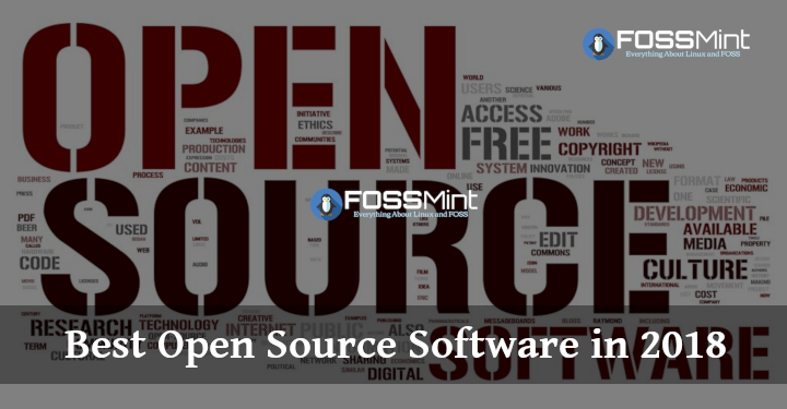 The Finest Open Supply Software program in 2018 (Customers