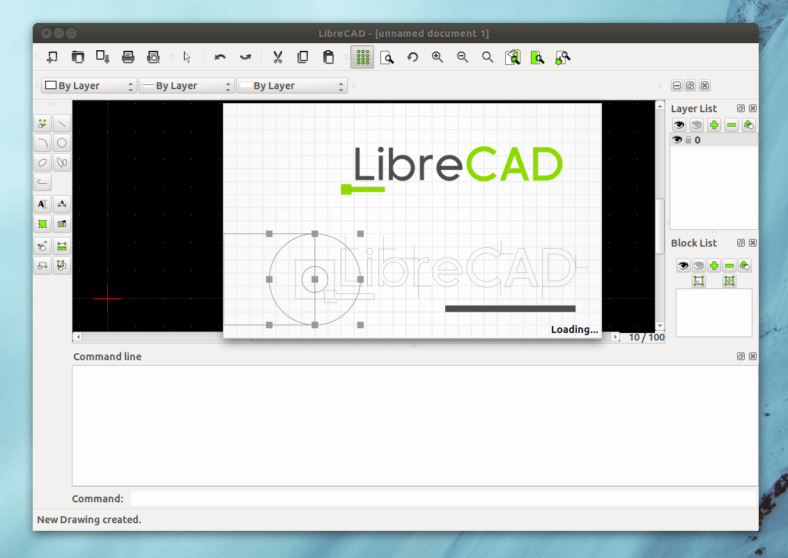 LibreCAD - 2D-CAD Software