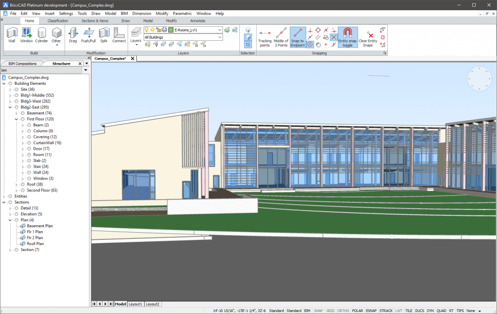 BricsCAD - A 2D & 3D CAD Software