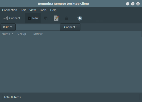 Remmina Desktop Sharing Client