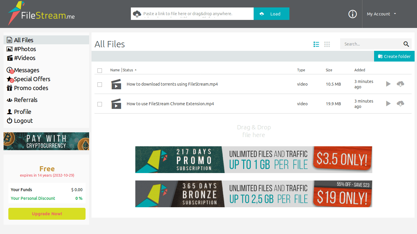 FileStream - Secure Download Manager
