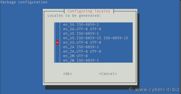Setting Locale Settings on Ubuntu Linux