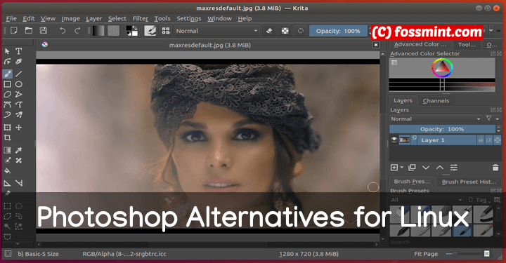 Finest Photoshop Options for Linux - LinuxAdminQA